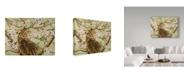 "Trademark Global Jan Benz 'Wishful Thinking Cats' Canvas Art - 24"" x 18"""