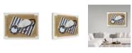 "Trademark Global Jan Panico 'Cat Mat' Canvas Art - 19"" x 14"""