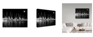 "Trademark Global J.D. Mcfarlan 'Shrimp Boats Asleep' Canvas Art - 24"" x 18"""