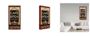 "Trademark Global Jean Plout 'Chefs 2' Canvas Art - 16"" x 32"""