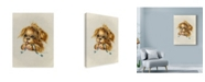 "Trademark Global Peggy Harris 'Pretty Please' Canvas Art - 18"" x 24"""