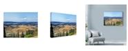"""Trademark Global Liz Zernich 'Trip Tuscany 2' Canvas Art - 24"""" x 18"""""""
