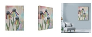 "Trademark Global Let Your Art Soar 'Wild Daisies' Canvas Art - 18"" x 24"""