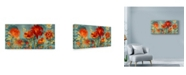 "Trademark Global Marietta Cohen Art And Design 'Watercolor Silhouette' Canvas Art - 24"" x 12"""