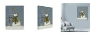 "Trademark Global Margaret Wilson 'Snowman At Rest' Canvas Art - 24"" x 32"""