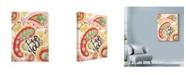 "Trademark Global Maureen Lisa Costello 'Olive You' Canvas Art - 18"" x 24"""