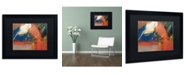 """Trademark Global Ricardo Tapia 'Presence' Matted Framed Art - 16"""" x 20"""""""