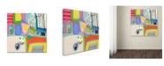 "Trademark Global Wyanne 'Everyone Loves Tom Hanks' Canvas Art - 24"" x 24"""