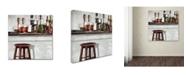 "Trademark Global The Macneil Studio 'Bar Stool' Canvas Art - 24"" x 24"""