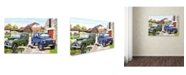 "Trademark Global The Macneil Studio 'Landrovers' Canvas Art - 30"" x 47"""