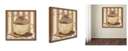 "Trademark Global Masters Fine Art 'Cappuccino' Canvas Art - 24"" x 24"""