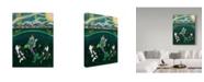 "Trademark Global Jake Hose 'Th Mermaid' Canvas Art - 24"" x 32"""