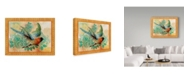 """Trademark Global Jean Plout 'Exotic Birds Flying' Canvas Art - 24"""" x 32"""""""