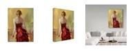 "Trademark Global Steve Henderson 'Red Dress' Canvas Art - 24"" x 32"""