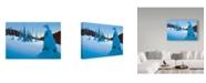 "Trademark Global Ron Parker 'Snowy Dawn' Canvas Art - 22"" x 32"""
