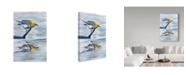 "Trademark Global Rusty Frentner 'Yellow Bird' Canvas Art - 30"" x 47"""