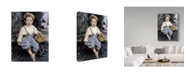 "Trademark Global Sharon Forbes 'Spankie' Canvas Art - 35"" x 47"""