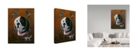 "Trademark Global Wilhelm Goebel 'English Setter' Canvas Art - 35"" x 47"""