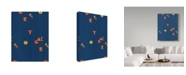 "Trademark Global Joyce Bantock 'Russia Blue' Canvas Art - 35"" x 47"""