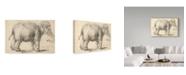 "Trademark Global Rembrandt 'An Elephant, 1637' Canvas Art - 22"" x 32"""