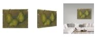 "Trademark Global Paul Cezanne 'Three Pears' Canvas Art - 32"" x 24"""