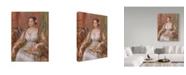 "Trademark Global Pierre Auguste Renoir 'Tilla Durieux' Canvas Art - 47"" x 35"""