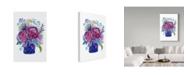"Trademark Global Irina Trzaskos Studio 'Flowers 4' Canvas Art - 30"" x 47"""
