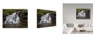 """Trademark Global Ian Tornquist 'Hidden Fall' Canvas Art - 47"""" x 35"""""""