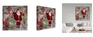 "Trademark Global Janelle Nichol 'Making Spirits Bright' Canvas Art - 35"" x 35"""