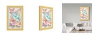 "Trademark Global Jean Plout 'Butterfly Frenzy 3' Canvas Art - 30"" x 47"""