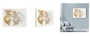 "Trademark Global Peggy Harris 'Honey Bunny' Canvas Art - 24"" x 18"""