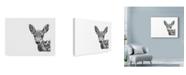 "Trademark Global Let Your Art Soar 'Deer Line Art' Canvas Art - 32"" x 24"""