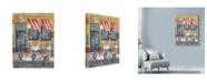 "Trademark Global Marietta Cohen Art And Design 'French Bistro' Canvas Art - 35"" x 47"""