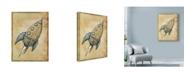 "Trademark Global Michael Murdock 'Rocket' Canvas Art - 35"" x 47"""