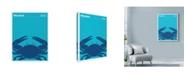 "Trademark Global Print Collection - Artist 'Blue Crab Maryland' Canvas Art - 24"" x 32"""