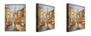 "Trademark Global Rio 'Venice' Canvas Art - 32"" x 26"""