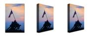 "Trademark Global MCat 'Pinacle of Patriotism' Canvas Art - 24"" x 16"""
