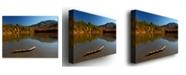 "Trademark Global Nicole Dietz 'The Adirondack Driftwood' Canvas Art - 32"" x 22"""