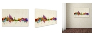 "Trademark Global Michael Tompsett 'New York, New York' Canvas Art - 32"" x 22"""