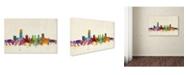 "Trademark Global Michael Tompsett 'Oklahoma City Skyline' Canvas Art - 32"" x 22"""