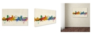 "Trademark Global Michael Tompsett 'Brighton England Skyline' Canvas Art - 32"" x 22"""