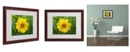 """Trademark Global Monica Fleet 'Purity' Matted Framed Art - 20"""" x 16"""""""