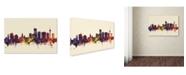 "Trademark Global Michael Tompsett 'Essen Germany Skyline III' Canvas Art - 12"" x 19"""
