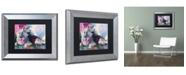 """Trademark Global Richard Wallich 'German Shepherd' Matted Framed Art - 11"""" x 14"""""""