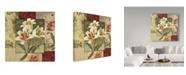 "Trademark Global Lisa Audit 'Classic Impressions 1' Canvas Art - 14"" x 14"""