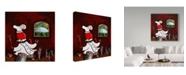 "Trademark Global Jake Hose 'Good Times' Canvas Art - 14"" x 14"""