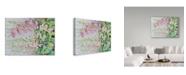 "Trademark Global Joanne Porter 'Summer Foxglove' Canvas Art - 14"" x 19"""