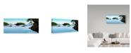 """Trademark Global Ron Parker 'Islands' Canvas Art - 10"""" x 24"""""""