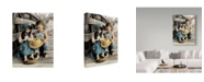 """Trademark Global Sharon Forbes 'Summer Friends' Canvas Art - 14"""" x 19"""""""