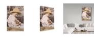 "Trademark Global Sharon Forbes 'Garden Of Eaten' Canvas Art - 12"" x 19"""